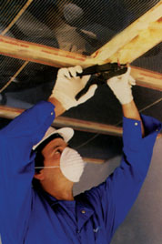 installating ceiling heating